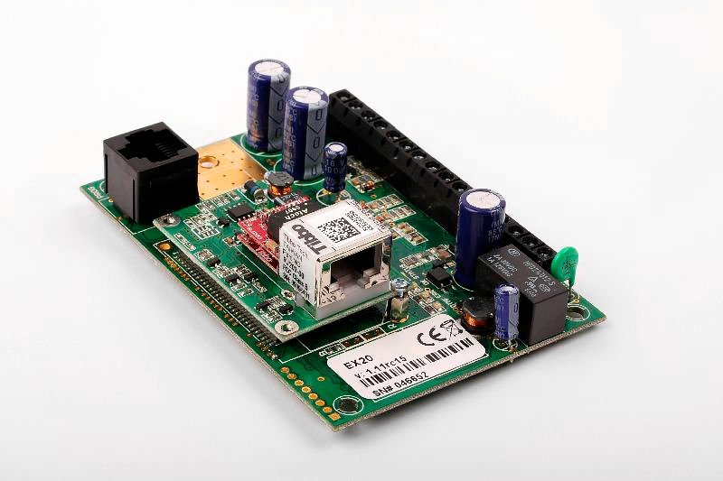 Comunicadores universales para alarmas IP EX20 Solutec