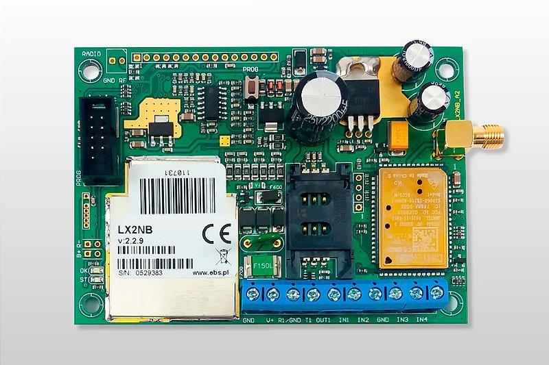 Comunicadores universales para alarmas GPRS LX2NB Solutec