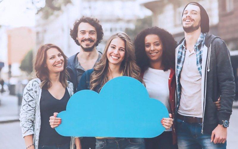 Aplicación de comunidades software de monitoreo de alarmas en la nube