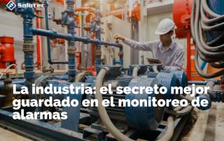 Monitoreo de alarmas en la industria