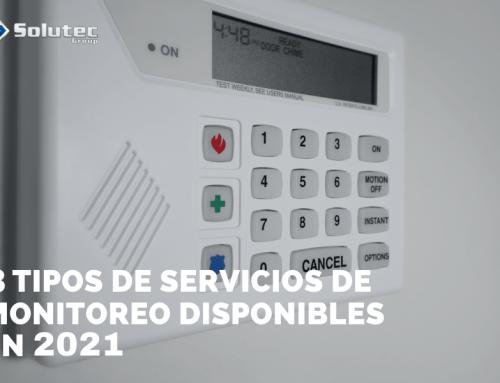 Los 3 tipos de servicios de monitoreo de alarmas disponibles en el 2021